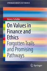 on values in finance and ethics